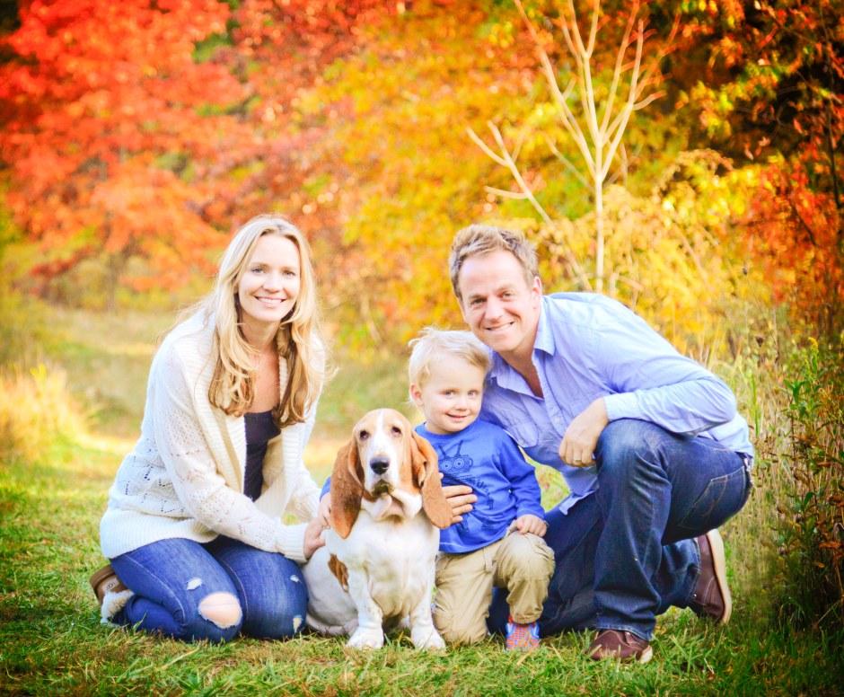 Fall Family Shot